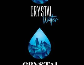 #9 dla I need a logo design for potable water brand  The selected name is Crystal Water przez mustjabf