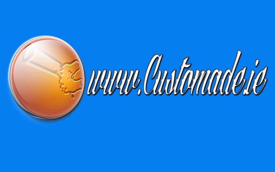 Kilpailutyö #                                        16                                      kilpailussa                                         Logo Design for www.custommade.ie