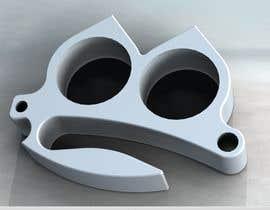nº 7 pour Two Finger Knuck - Simple 3d design and modeling - Fusion 360 File par gsonengineering