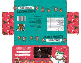 #19 for Create a Christmas Packaging Design for brownies af fabulista