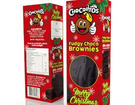 #65 for Create a Christmas Packaging Design for brownies af wilsonomarochoa