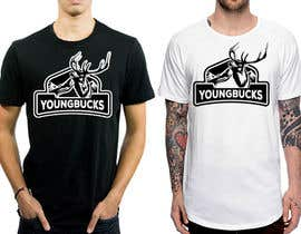 #49 for YoungBuck t-shirt logo design! by feramahateasril