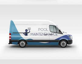 #15 for design for pool maintenance/advertising on car meredes Vito by herodesigns