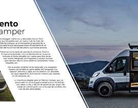 Nro 11 kilpailuun Creación Catálogo Fiat Talento Camper käyttäjältä JackArevalo