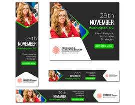 Nro 36 kilpailuun Design Web Ads for a Conference käyttäjältä juwel786