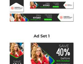 Nro 37 kilpailuun Design Web Ads for a Conference käyttäjältä juwel786