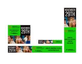 Nro 4 kilpailuun Design Web Ads for a Conference käyttäjältä Invoker6969