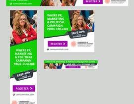 Nro 31 kilpailuun Design Web Ads for a Conference käyttäjältä silvia709