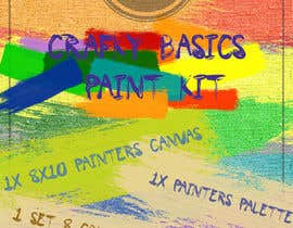 #14 for Crafky Paint Kit Label by exequsher