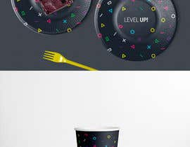 #1 for Design plates, cups, napkins for party supplies - Gaming theme by Fraffaele