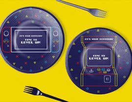 #9 for Design plates, cups, napkins for party supplies - Gaming theme by triadadisenos