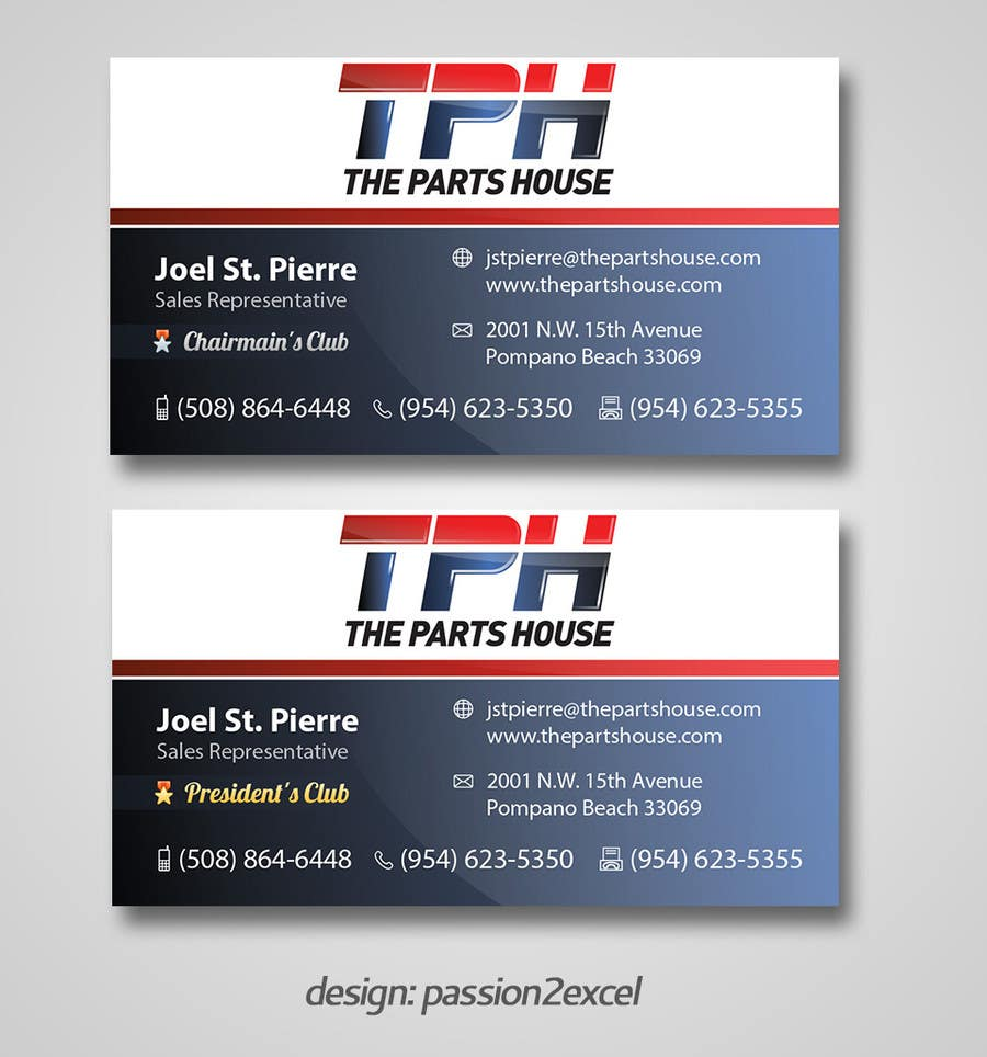 Penyertaan Peraduan #51 untuk Graphic Design for The Parts House