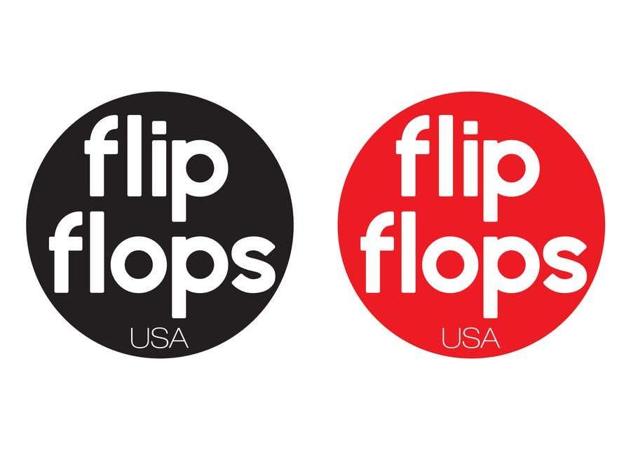 Penyertaan Peraduan #39 untuk Quick LOGO for flip flop website