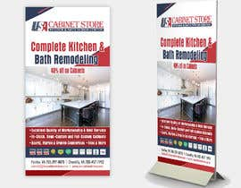 #2 for Double Sided Mount Sign Design for Kitchen Remodeling Company by jrayhan