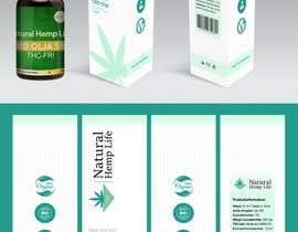 #18 for New product package design for CBD/Hemp health company by tarhlancer