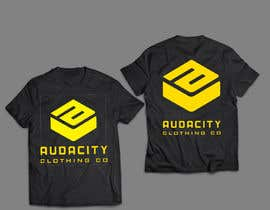 nº 16 pour I want my logo put on the back of shirts i need some mockups made. par nagimuddin01981