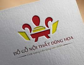 #13 pentru Design logo for ĐỒ GỖ NỘI THẤT DŨNG HOA de către shahrukhcrack