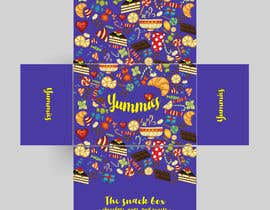 #15 for Snacks Box Packaging Design by madlabcreative