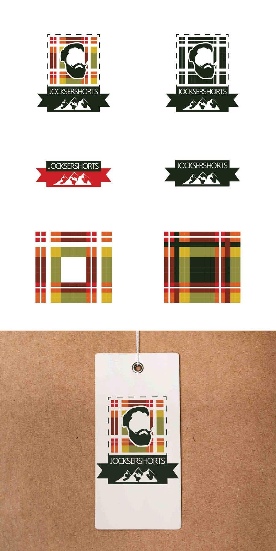Inscrição nº 23 do Concurso para Logo Design Apparel Men's Boxer shorts tartan