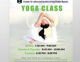 #47 for Yoga Classes Flyer by raciumihaela