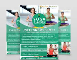 #46 for Yoga Classes Flyer by DhanvirArt