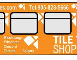 #68 for Tile Shoppe Bus Wrap af monoloko22