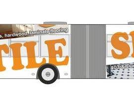 #107 for Tile Shoppe Bus Wrap af manfredslot