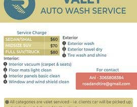 #1 for Design an Advertisement - Valet Auto Wash Service by TH1511