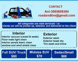 #7 for Design an Advertisement - Valet Auto Wash Service by designersumitra