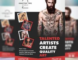 #3 untuk Flyer Tattoo Studio - Auckland NZ oleh meenapatwal