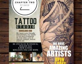 #23 untuk Flyer Tattoo Studio - Auckland NZ oleh maiishaanan