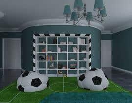 #60 untuk Design a kid's room oleh YauheniHuryn