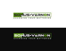 #12 for I need a logo designed.   With box around the below :   SOHUS•VERNON  charging your batteries  Coulours white / green / greys  High quality   Clear back ground in all formats to be supplied by NeriDesign
