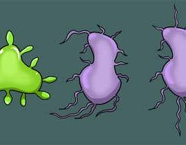 #59 para Design a simple bacteria for an android game por ecomoglio