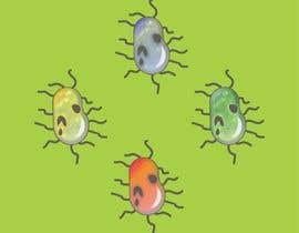 #63 para Design a simple bacteria for an android game por era67