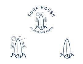 #35 pёr Logo for a Surf House Hotel nga NeriDesign