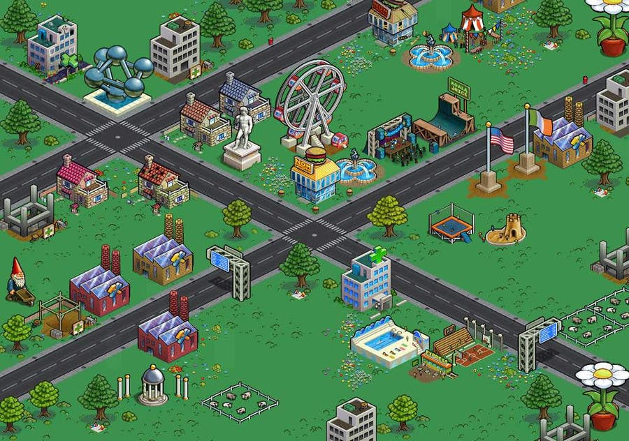 Contest Entry #2 for 50 isometric building designs for iPhone/Android city building game