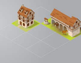 #3 cho 50 isometric building designs for iPhone/Android city building game bởi benpics