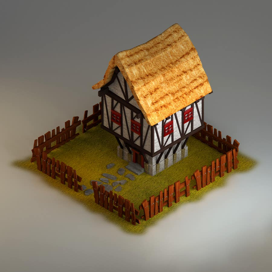 Photography Contest Entry #12 for 50 isometric building designs for iPhone/Android city building game