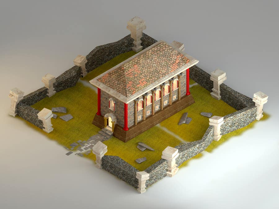 Contest Entry #17 for 50 isometric building designs for iPhone/Android city building game