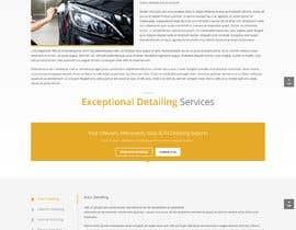 nº 2 pour Basic website for car detailing par waqarahmed23