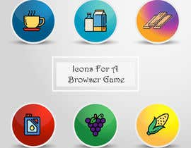 #128 for Icons for a Browser Game af nirajmangukiya