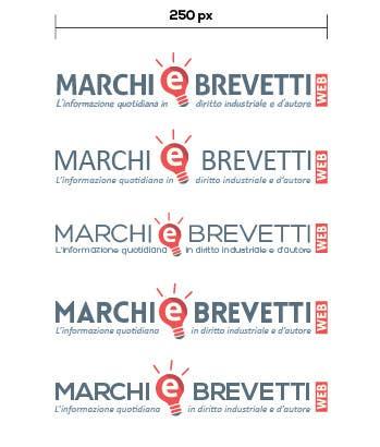 Penyertaan Peraduan #                                        85                                      untuk                                         Restyling logo Marchi e Brevetti web