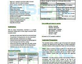 #33 for product data sheet af jessikajrondon