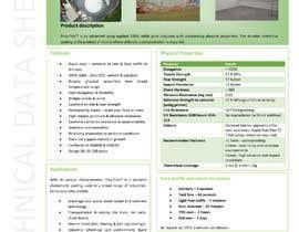 #27 for product data sheet af GopalJp