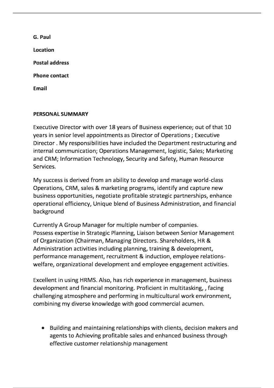 Entry 3 By Kaleorui For CV Resume Rewriting With Professional