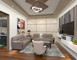 #47 untuk Design idea for kitchen & living room oleh chetanimehta