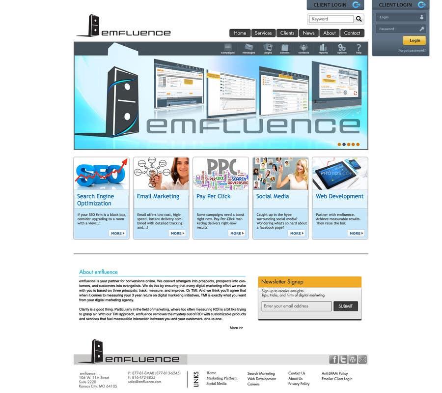 #62 for Website Design, Responsive, HTML5 by yadbinder