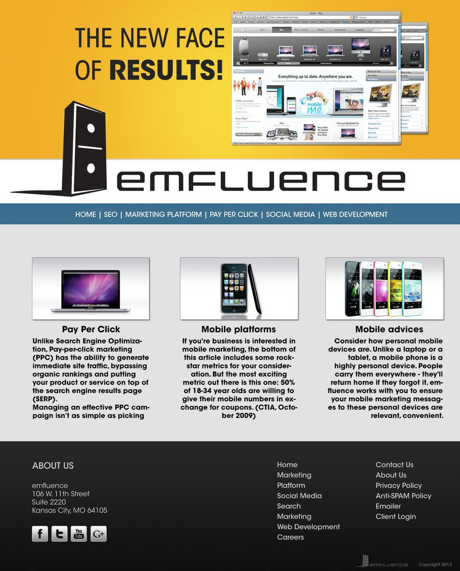 Inscrição nº                                         8                                      do Concurso para                                         Website Design, Responsive, HTML5