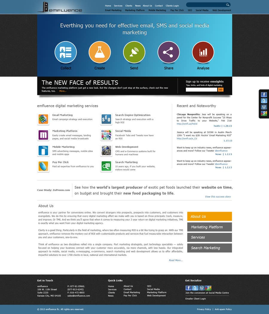 #16 for Website Design, Responsive, HTML5 by sudee1976